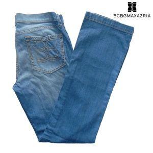 BCBGMaxazria bootcut jeans size 30 light